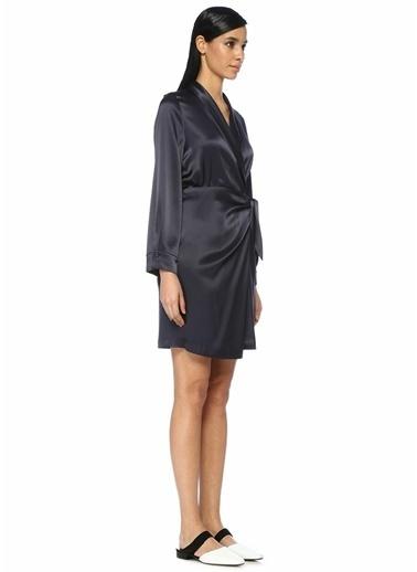 Nanushka Elbise Lacivert